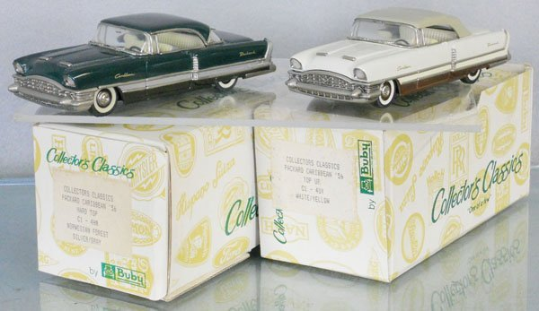 2 BUBY 1956 PACKARD CARIBBEANS