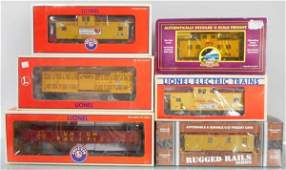 LIONEL  MTH UP FREIGHT CARS