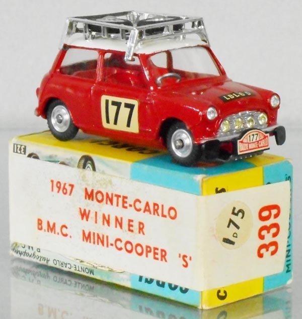 CORGI 339 1967 MONTE CARLO WINNER