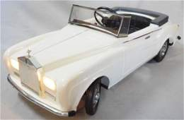 TRIANG MINIC ROLLS ROYCE SILVER CLOUD III PEDAL CAR