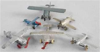 6 SLUSH DIMESTORE AIRPLANES