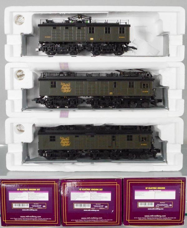 MTH NEW HAVEN EF ELECTRIC LOCO SET
