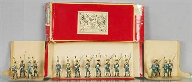 3 MIGNOT ITALIAN INFANTRY SETS