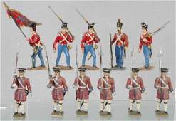2 MIGNOT SOLDIER SETS