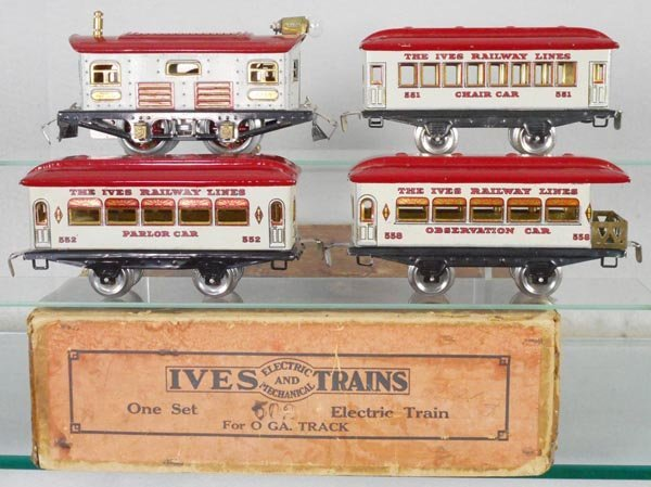 IVES 502 WHITE OWL TRAIN SET