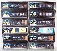 12 WEAVER FREIGHT CARS