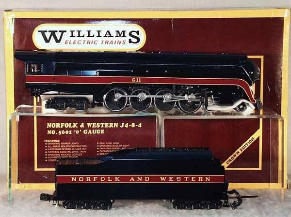 23: WILLIAMS 5601 N&W LOCO & TENDER