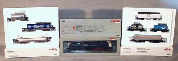 349: MARKLIN TRAIN SET