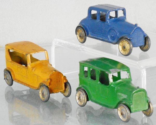 3 TOOTSIETOY AUTOS