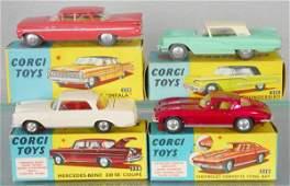 4 CORGI AUTOS