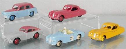 5 DINKY AUTOS