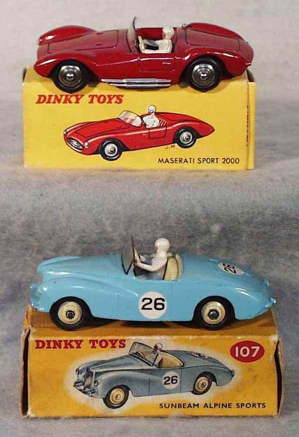 1001: 2 DINKY RACE CARS