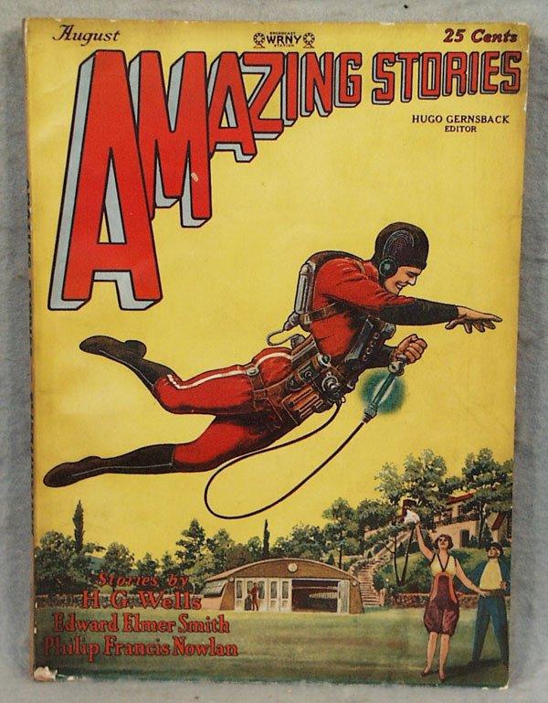 1021: BUCK ROGERS AMAZING STORIES MAGAZINE