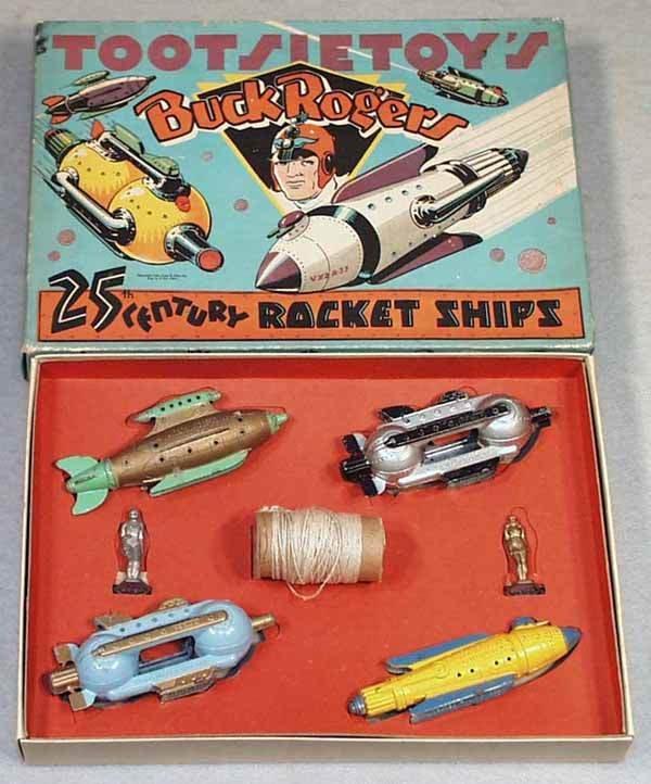1471: TOOTSIETOY BUCK ROGERS ROCKET SHIPS