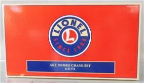 LIONEL 31774 AEC BURRO CRANE SET