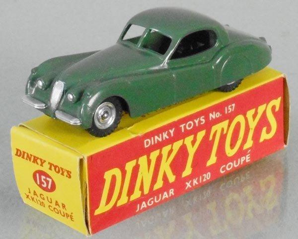DINKY 157 JAGUAR XK120 COUPE