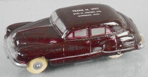NATIONAL PRODUCTS 1947-48 BUICK SUPER PROMO