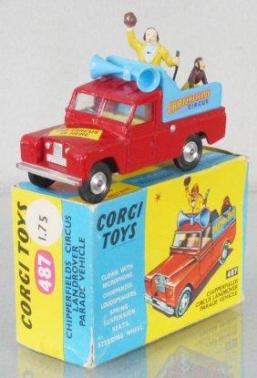 Corgi 487 Chipperfield Landrover Parade Vehicle
