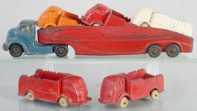 Auburn Rubber Car Set