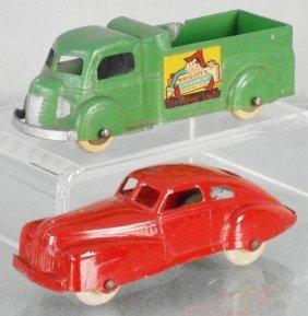 2 Tootsietoy Vehicles