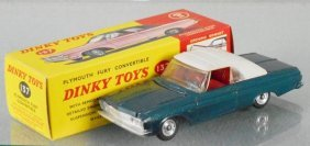 Dinky 137 Plymouth Fury Convertible