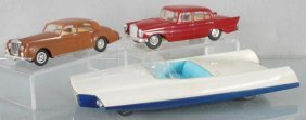 3 Ok Toy Vehicles