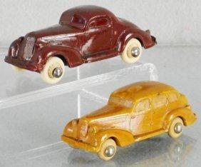 2 Rainbow Rubber Oldsmobiles