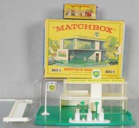 Matchbox Mg1c1 Service Station Set