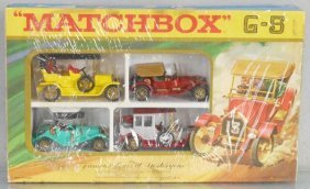 Matchbox Gs5c2 Famous Cars Of Yesteryear