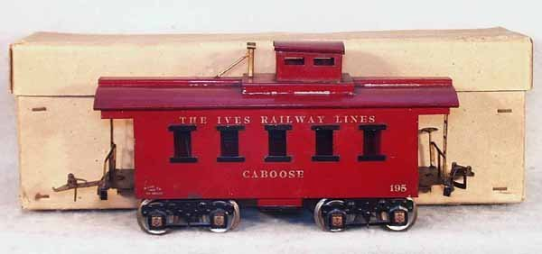 23: IVES 195 CABOOSE
