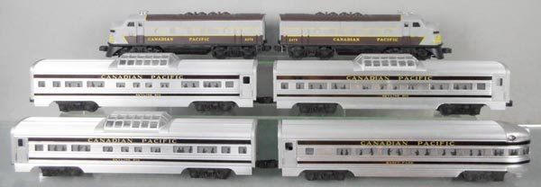 LIONEL 2296W CANADIAN PACIFIC TRAIN SET