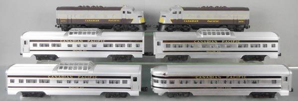 LIONEL 2296W CANADIAN PACIFIC TRAIN SET - 2