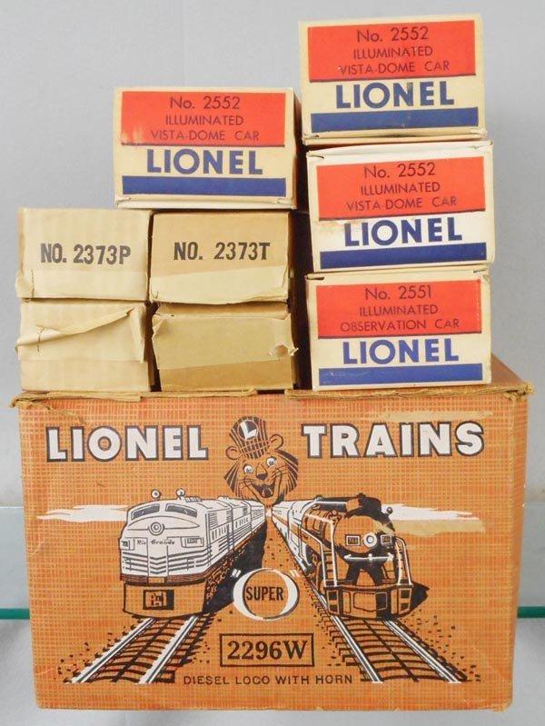 LIONEL 2296W CANADIAN PACIFIC TRAIN SET - 4