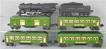 LIONEL 190W TRAIN SET