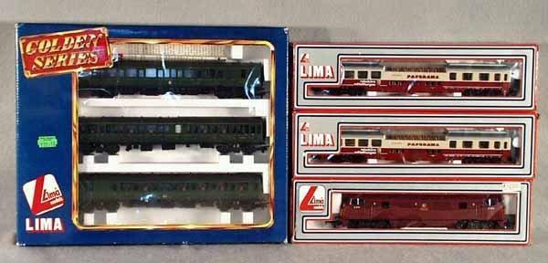 006A: 2 LIMA TRAIN SETS