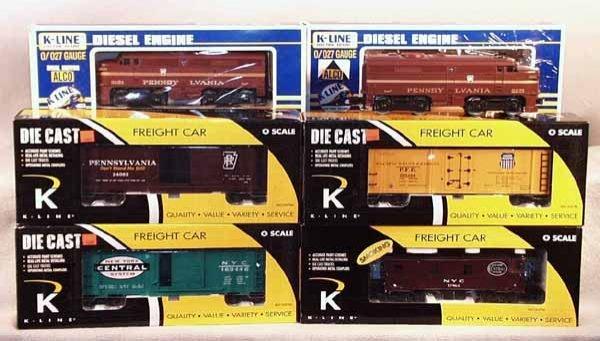 018A: K-LINE TRAIN SET