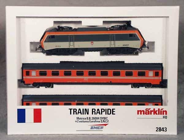 019A: MARKLIN 2843 FRENCH TRAIN SET