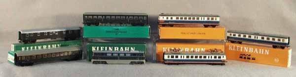 022A: 2 KLEINBAHN TRAIN SETS