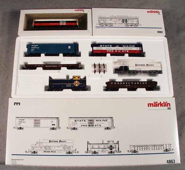 023A: MARKLIN AMERICAN TRAIN LOT
