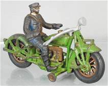 HUBLEY INDIAN POLICE MOTORCYCLE