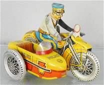 MARX SIREN POLICE MOTORCYCLE
