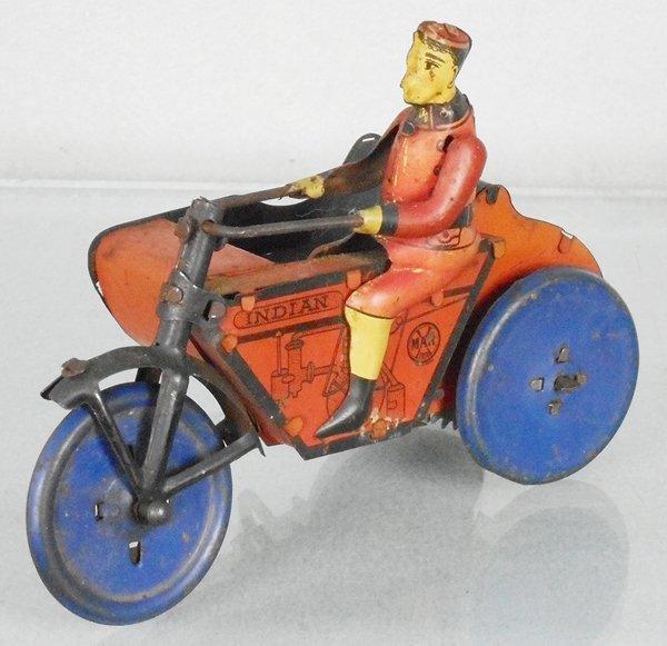 MARX INDIAN MOTORCYCLE