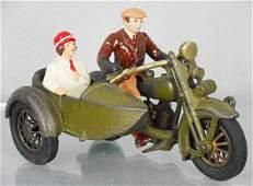 HUBLEY HARLEY DAVIDSON CIVILIAN MOTORCYCLE