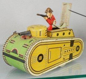 Marx Army Tank
