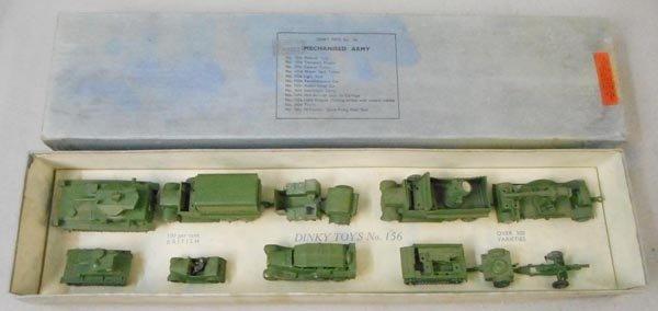 DINKY 156 MECHANIZED ARMY SET