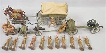 ELASTOLIN WWI INFANTRY