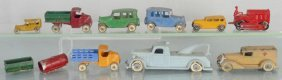 9 Tootsietoy Vehicles