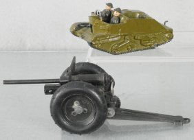 2 Toy Army Vehicles