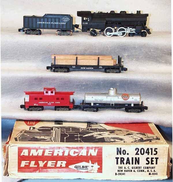 3: AMERICAN FLYER 20415 TRAIN SET