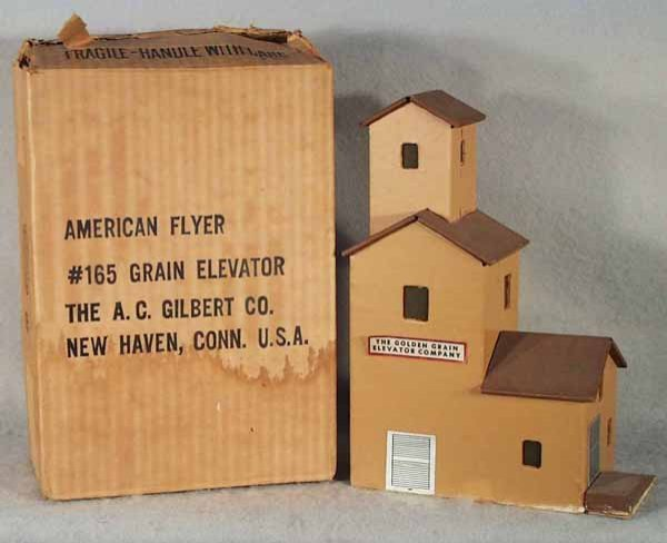 6: AMERICAN FLYER 165 GRAIN ELEVATOR
